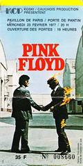 19770223_Pink Floyd (S. Le Bozec) Tags: rock concert ticket pinkfloyd progressive