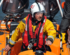 At the helm of the lifeboat (manxmaid2000) Tags: charity sea rescue color colour wheel coast sailing bright action safety lifeboat steer volunteer isleofman manx helm iom rnli porterin voluntary searchandrescue royalnationallifeboatins