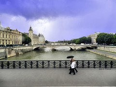 Dreaming of the Seine........ June 21, 2013 (gailpiland) Tags: paris france seine photo hypothetical thegalaxy artdigital theunforgettablepictures theperfectphotographer sharingart gailpiland netartii flickrstruereflection1