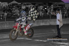 """""""Setting Sun, Local Star."""" (DigitalDoug - ) Tags: canon racing ama motorcycle nik 37a district6 flattrack 40d deltapa bctra 5dmii silverefexpro2 canonef40mmf28stm corystrickler"""