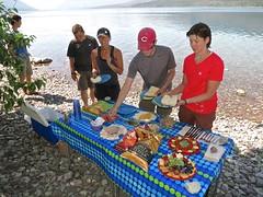 lunch! (jcoutside) Tags: montana backpacking glaciernationalpark