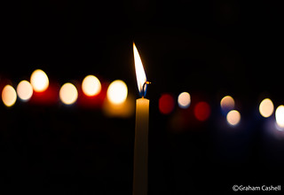 Candle bokeh [Explored 4th August 2013]