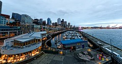 seattle skyline (Rick Takagi) Tags: seattle harbor downtown bell