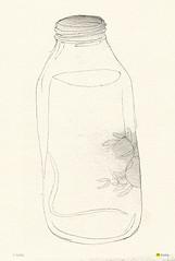 on the desk (kasiQ) Tags: water illustration desk drawing bowl illust kasiq leejungwoo