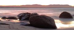Byron Beach Rocks (Ash.Cox) Tags: sunset coast lookout downunder canon1100d