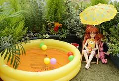 Millie's Pool Party (Scarlett Empress) Tags: millie sia dollstown dt5
