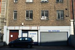 Private Forecourt (photosam) Tags: london architecture prime raw parking fujifilm aldgate cityoflondon lightroom x100 fujifilmx
