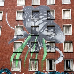 Ludo_Austerlitz03 (OliveTruxi) Tags: street streetart paris art graffiti tour tag galerie fulton 13 austerlitz immeuble ludo artderue itinerrance tourparis13 itinrrance