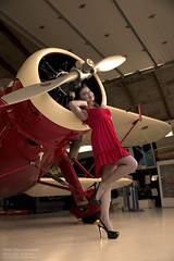 Pinup Aviation Workshop (Zorro1968) Tags: vancouver vintage model aircraft aviation pinup modelbrittanitychoruk muajudyandreson