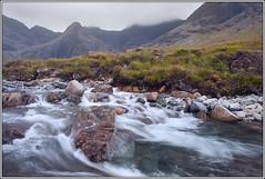 Fairy Pools (seozzy) Tags: skye nature rain landscape scotland waterfall fairy pools isle