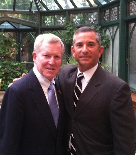 Senator Gordon w/Councilman Wojtecki