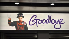 """Goodbye"", Terminal 4, London Heathrow (David McKelvey) Tags: uk england london heathrow goodbye terminal4 2013"