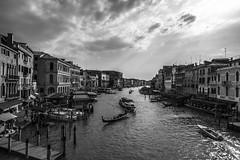 Venezia (cpphotofinish) Tags: venice italy water canal italia purple image gondola vin venezia gondolier vino bilde gondol veneto canalgrande cpphotofinish