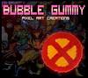 Logo X-MEN (Bubble Gummy pixel art) Tags: comic xmen marvel wolverine lobezno hamabeads perlerbeads bubblegummy bubblegummypixelart