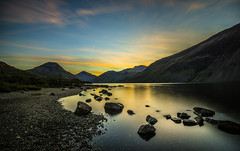 Wastwater at Dawn (kidda63) Tags: sunset night pwpartlycloudy