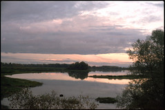 (Lake Myachino) (Anton Kamenskiy) Tags: film russia iso400 olympus om novgorod fujicolor  olympusom1n film135  zuiko5014 velikiynovgorod