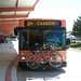 DART's Gillig bus #274 with bike on rack at Dover Transit Center, Dover 6-15-12