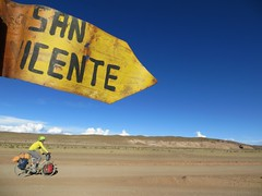 A great Bolivian road sign