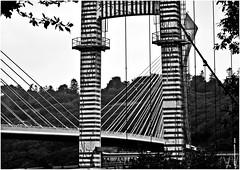UL 438 (cadayf) Tags: bridge bw monument architecture bretagne nb line pont 29 britanny ligne graphique ouvrage
