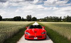 red rot bayern 10 american dodge viper nürnberg srt vision:outdoor=0945 vision:car=0702 vision:sky=0854 vision:clouds=0716