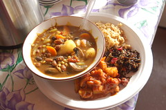 "Tasty Potluck Food <a style=""margin-left:10px; font-size:0.8em;"" href=""http://www.flickr.com/photos/91915217@N00/11283182965/"" target=""_blank"">@flickr</a>"