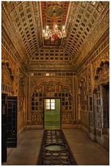 Jodhpur IND - Mehrangarh Fort Sheesha Mahal