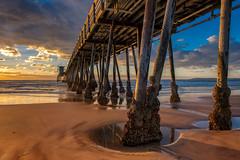 Waiting for Sunset (mojo2u) Tags: california beach pier sandiego ib imperialbeach imperialbeachpier ibpier nikon2470mm nikond800