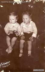 CláudioPrati AntônioPrati irmãos LauraPrati 1937