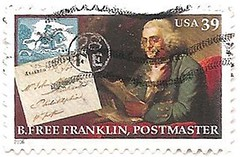 USA stamp - B Free Franklin (sftrajan) Tags: usa unitedstates printer stamps stamp inventor politician benjaminfranklin timbre scientist postagestamp philately publisher sello diplomat briefmarke  francobollo postmaster  39cents bfreefranklin