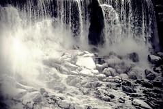 Niagara Fall in Winter (khoosh) Tags: winter snow ontario canada ice niagarafalls frozen moments khashayar niagarafallsontariowinterfrozenice