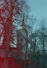 Gigelturm, Biberach (wirklicht.) Tags: light colour tower nikon riss development biberach f4 leaks c41 3600 reflecta tetenal iscan colortec paradies400 gigelturm