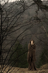 In the Forrest (Karolis Milasevicius) Tags: portrait brown girl look nikon 85mm lithuania vilnius d3 alienbees b400 b800