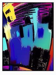 2014 - 013 / Inner roofs 17 (javananda) Tags: digital java arte artrage abstracto cdiz pintura fingerpaint digitalpaint ipad photopieces javananda icolorama artsetpro