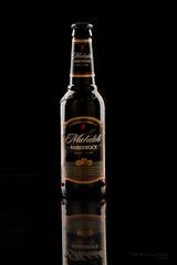 Amber Bock (Pete Hudeck Photo) Tags: beer glass dark bottle michelob amberbock vision:text=0555 vision:outdoor=0977 vision:dark=0941