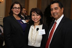 Gina Welch, Elva Rubalcava and Henry Mendoza