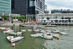 Boats (chooyutshing) Tags: boats singapore marinabay