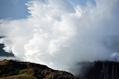 atlantic wallop (ifido) Tags: wave atlantic ballintoy vision:mountain=0765 vision:outdoor=099 vision:ocean=087 vision:sky=0972 vision:clouds=0971