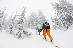 Rio Roe March 16 2014     -1 (Pat Mulrooney) Tags: snow canada whistler britishcolumbia danielle powder brett g3 sled squamish snowmobile skitouring coastmountains arcteryx chancecreek backcountrysnowboarding roecreek g3skins patmulrooneyphotography skidoosummitrevxm g3blacksheepcarbon