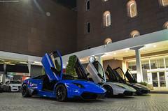 Triple SV Combo (BLACKFOXPHOTOGRAPHY) Tags: blue white sexy nova speed grey italian singapore fast exotic lamborghini supercar sv italians supercars combo fastcars blackfoxphotography exoticars alexpenfold effspot v12khan sathyamelvani