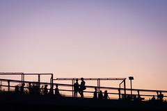 Life on the Highline (angeljimenez) Tags: nyc newyorkcity sunset chelsea manhattan highline