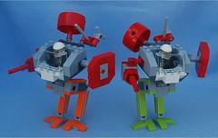 Knock-Offs 1 (Mantis.King) Tags: lego legogaming legomecha moc mechaton mobileframezero mfz mf0 microscale mecha mech scifi futuristic wargames minifig