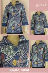 New Arrival!! Original Batik Pekalongan Indonesia  ✔Limited Edition ✔Available on store  BLUS TRIKOT Material : Katun Primis+furing press Size        : M Color      : on model Price      : IDR 350k  Contact & Online Order : ☎Phone/Line/w.a/Telegram +62897 (indahjaya_batik) Tags: trendbatik batikindonesia batikupdate bajubatik ijbatik batikpekalongan batik batikhalus blouse kainbatik blus batikjourney dressbatik busanabatik dress