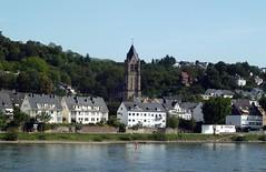 Pfaffendorf und der Kirchturm der Kirche St. Peter und Paul