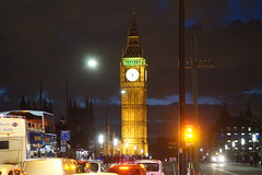 big ben and westminster bridge (tombrown3189) Tags: big ben westminster bridge night shot london colour photo flickr palace landmark tourist looking across