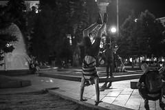 kiev handstand black white bw blackwhite canon6d 50mm... (Photo: Wendelin Jacober on Flickr)