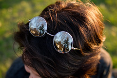 Lifestyle Close Up Shot of Sunglasses (wuestenigel) Tags: fun tourist sunset mirror funny reflection fashion city beauty europe angle hipster urban female sunglasses summer picture beautiful eyeglasses travel girls friends mirrored blue pretty glasses lifestyle people cool girl mädchen nature natur portrait porträt schön hair haar smile lächeln menschen grass gras sommer woman frau face gesicht cute niedlich model modell one eins park field feld young jung outdoors drausen eye auge adult erwachsene