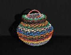 Wire Basket Arizona Tohono O'odham (Teyacapan) Tags: papago arizona baskets wire indian nativeamerican crafts