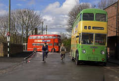 'Black Country III' (andrew_@oxford) Tags: black country living history museum trolleybus bus midland red reenactment reenactors timeline events