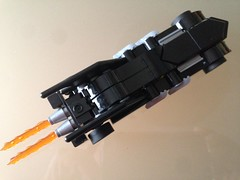 Microscale Batmobile (WhiteBrix) Tags: lego microscale black pullback batmobile
