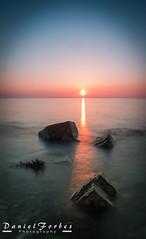 DSC_0030-1 (forbesy10) Tags: seatonsluice seascape sunrise rocks sky beach coast newcastleupontyne northumberland lx